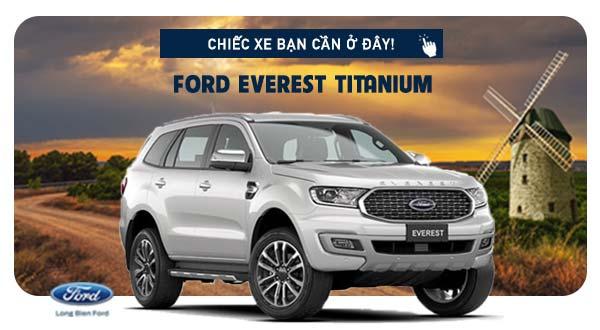 Everest Titanium tạ Long Biên Ford