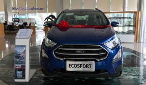 Ảnh thực tế Ecosport Trend xanh