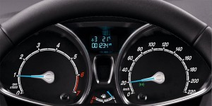 Nội thất Ford Fiesta 4 cửa 1.5L AT Titanium